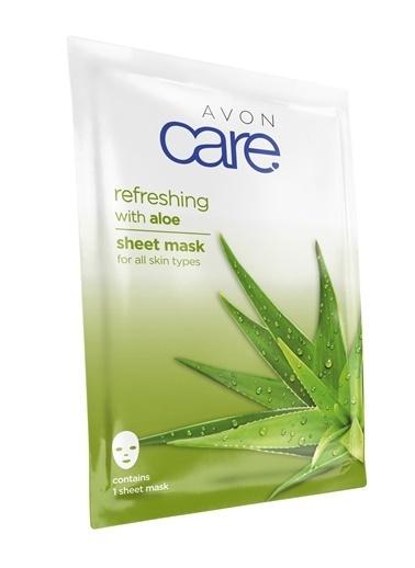 Avon Care Aloe Vera Özlü Kağıt Maske Renksiz